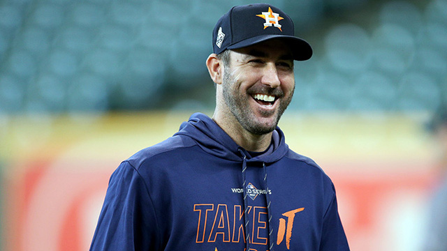 Justin Verlander-2019 Cy Young Awards Winner